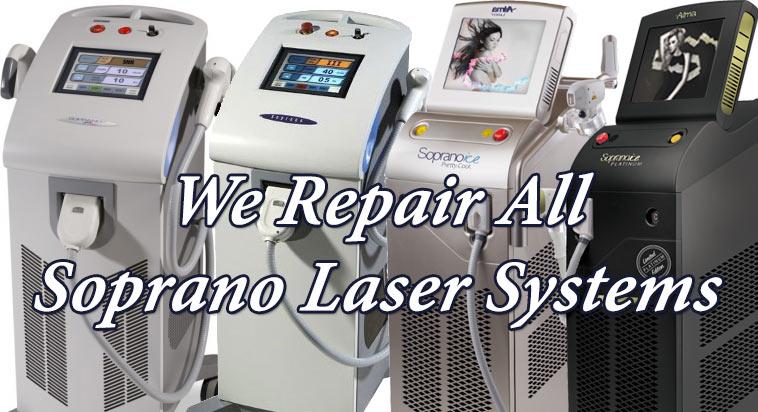 alma soprano laser repair